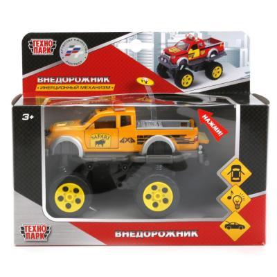 Инерционная машинка Технопарк АВТОРАЛЛИ красно-желтый CT10-041-2+3(WB) игрушка технопарк урал пожарка ct10 100 1