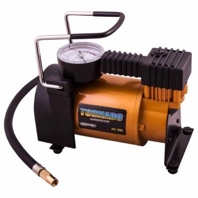 Компрессор SKYWAY S02001019 металлический 30л/мин в прикуриватель торнадо ас-580 компрессор skyway титан 04 s02001013