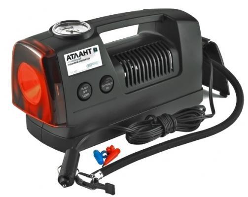 Компрессор SKYWAY АТЛАНТ-02 пластиковый 11л/мин в прикуриватель с фонарем комплект адаптеров атлант 8642