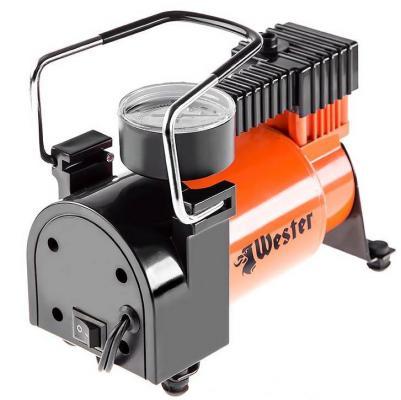 Компрессор автомобильный WESTER TC-3035 160Вт 35л/мин до 30 мин компрессор автомобильный berkut r15