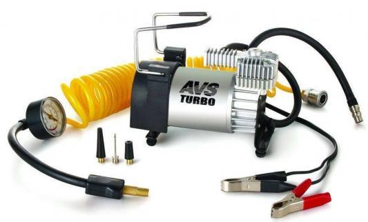 Компрессор автомобильный Turbo AVS KS 600 250Вт 12В 23А 60л/мин 10Атм компрессор avs ke450l a80978s