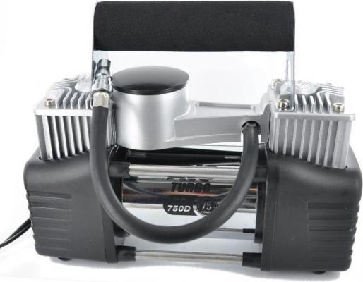 Компрессор автомобильный Turbo AVS KS 750 D 300Вт 12В 30А 75л/мин 10Атм автомобильный