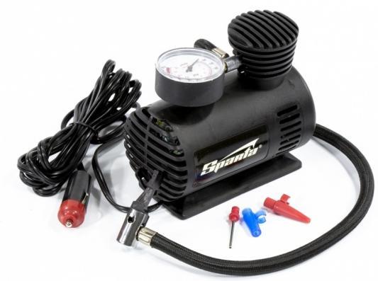 Компрессор SPARTA 58050 для подкачки шин с-12 12 в 17 атм. 12k/мин компрессор для шин e74 auto 12v 150 psi