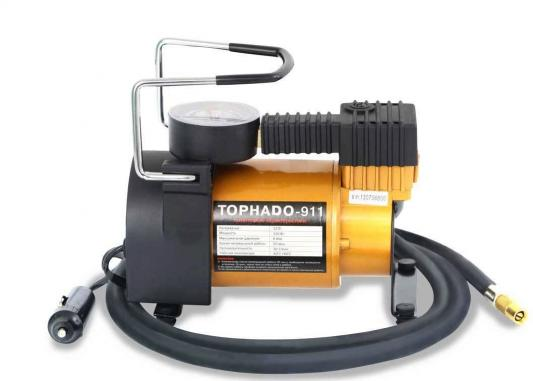 Компрессор автомобильный TORNADO-911 R 12В 14А 30л/мин 6Атм компрессор автомобильный azard tornado 911
