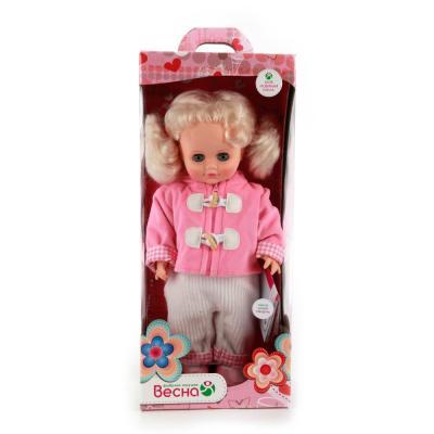 Кукла ВЕСНА ИННА 8 43 см со звуком В21/о весна кукла маргарита 8 со звуком 40 см весна