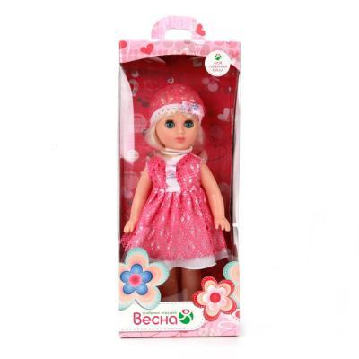 Кукла ВЕСНА АЛЛА 12 35.5 см В777 весна кукла алла цвет одежды белый оранжевый
