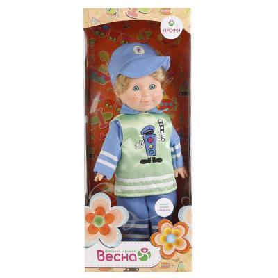 Кукла ВЕСНА МИТЯ ПОСТОВОЙ 34 см со звуком В1743/о весна кукла митя почтальон