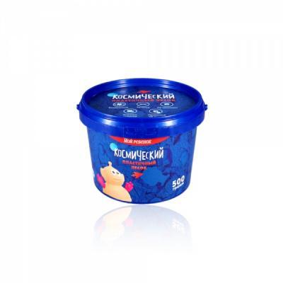 КОСМИЧЕСКИЙ ПЕСОК СИРЕНЕВЫЙ 0,5 КГ в кор.12шт волшебный мир 5 кг голубой