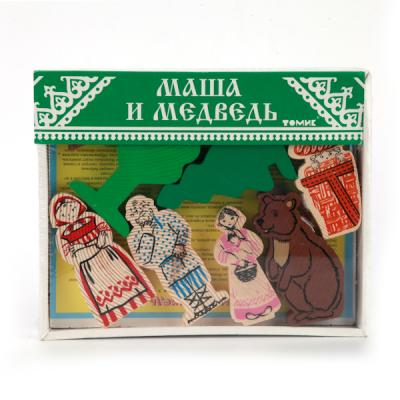 Купить Конструктор Томик Маша и медведь, Пластмассовые конструкторы