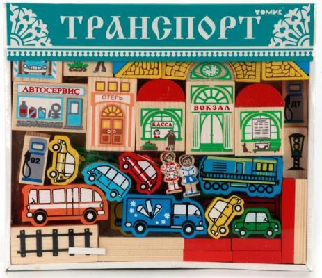 Купить КОНСТРУКТОР ТРАНСПОРТ в кор.12шт, Томик, Пластмассовые конструкторы
