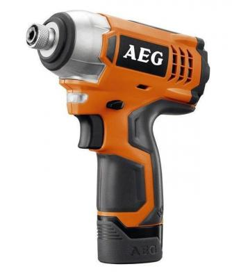 цена на Аккум.гайковерт уд. AEG BSS 12C Li-202C 12В 2x2.0Ач LiION 0-2400об/мин 0-3000уд/мин 107Нм в кейсе
