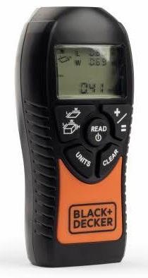 Дальномер Black & Decker BDMU040-FR 12 м дальномер cem ldm 35 35 м