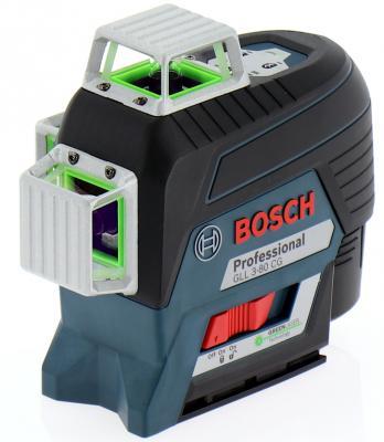 Уровень BOSCH GLL 3-80CG+BM1+12V+L-boxx (0.601.063.T00) 30м с приемником: 120м ±0.2мм/м <4с 4° 360 rainford rbн 7604 bm1 black