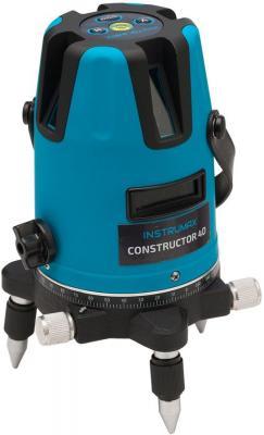 Лазерный нивелир INSTRUMAX Constructor 4D  дальность20(70)м точн.±2мм/10м ±3° 5линий 3хАА/1.5 5/8