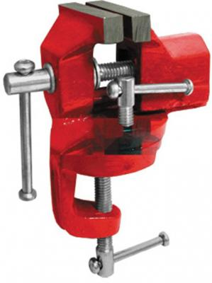 Тиски FIT 59425 настольные, облегченные, поворотные 50 мм станочные поворотные усиленные тиски fit it 59727