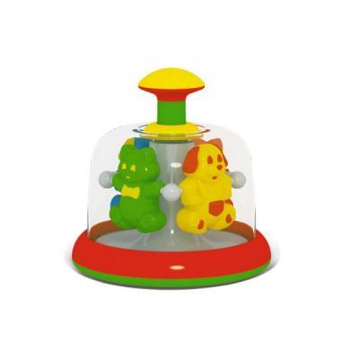 ЮЛА-КАРУСЕЛЬ ДОМАШНИЕ ЛЮБИМЦЫ (В П/ПАКЕТЕ) в кор.9шт развивающие игрушки стеллар юла карусель с шариками