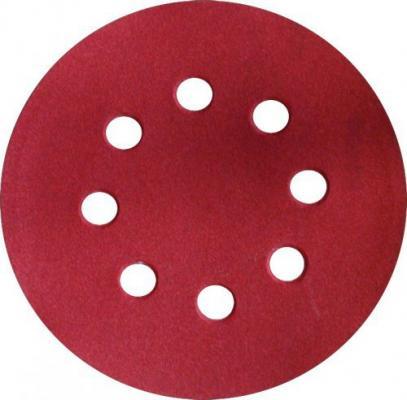 Круг шлифовальный ЭНКОР 20206 125мм P180 набор 5 шт цена за комплект