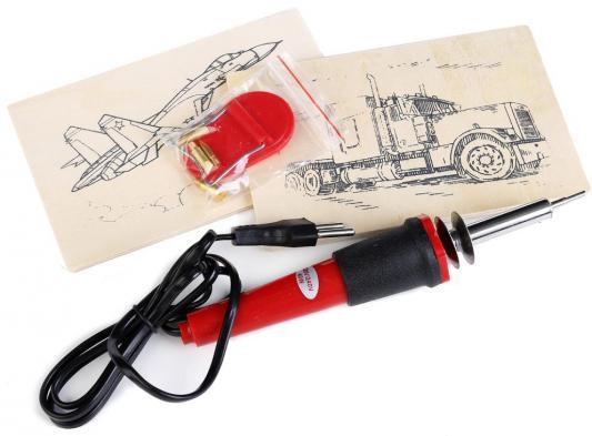Купить Набор для выжигания MultiArt Тягач и самолет от 6 лет, Выжигание и поделки из дерева