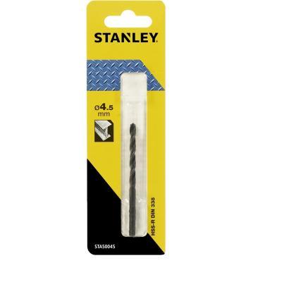 Сверло STANLEY STA50045-QZ Ф4.5x80x47мм по металлу HSS-R бур stanley sta54278 qz