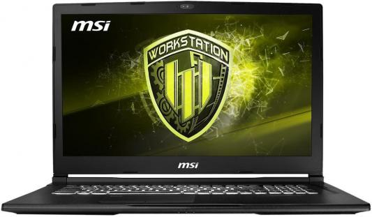 Ноутбук MSI WE73 8SJ-074RU (9S7-17C632-074) msi ae220 5m 074ru