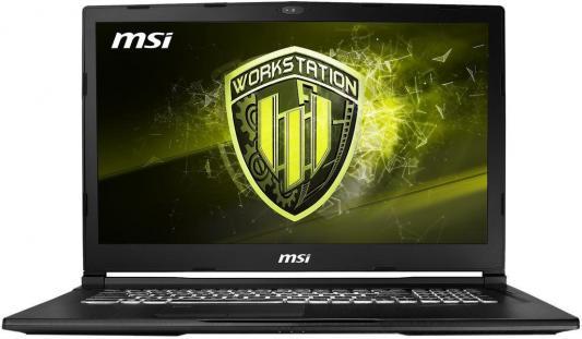 Ноутбук MSI WE73 8SJ-075RU (9S7-17C632-075) ноутбук msi gl72m 7rdx 1488ru 9s7 1799e5 1488