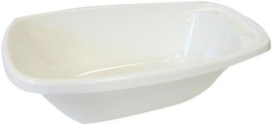 Детская ванночка со стоком 34л, белый