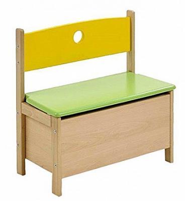 Купить Скамья игровая с ящиком для игрушек Pepino, натуральный/цветной, Geuther, Развивающие центры для малышей