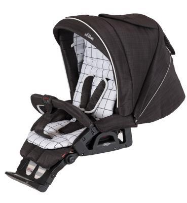Купить Детская коляска VIP GTS XL 761 s.Oliver, HARTAN, черный, Коляски для новорожденных