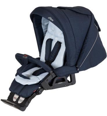 Купить Детская коляска VIP GTS XL 764 s.Oliver, HARTAN, синий, Коляски для новорожденных