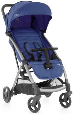 Детская коляска Oyster Atom Oxford Blue с накидкой на ножки
