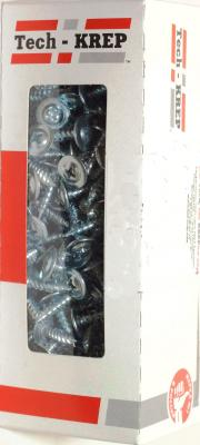 Саморез ТЕХ-КРЕП 102140 шсмм 4.2х19 (200шт) коробка с ок. саморез tech krep 102170 ы универсальные 25х3 5мм 200шт оцинкованные коробка с ок tech kr