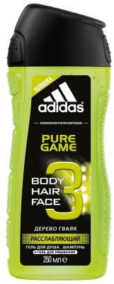 Гель для душа ADIDAS Pure Game 250 мл парфюмерный набор adidas pure lightness парфюмерная вода 75 мл гель для душа 250 мл