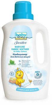 BABYLINE Sensitive Кондиционер для стирки детских вещей 1л детские моющие средства babyline кондиционер для стирки детских вещей 1 л