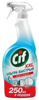 CIF Чистящее средство для стекол 750мл средство чистящее cif washroom 2 в 1 для туалетных комнат 750 мл