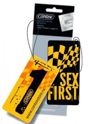 Автомобильный ароматизатор Contex Sex First: Прохлада ночного сада 3062369