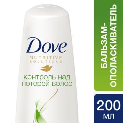 DOVE HairTherapy Бальзам-ополаскиватель Контроль над потерей волос 200мл