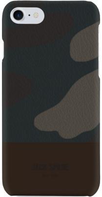 Накладка Jack Spade Snap Case для iPhone 7 iPhone 8 коричневый камуфляж JSIPH-025-CMOC snap case
