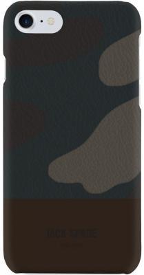 Накладка Jack Spade Snap Case для iPhone 7 iPhone 8 коричневый камуфляж JSIPH-024-CMOC snap case