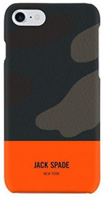 Накладка Jack Spade Snap Case для iPhone 7 iPhone 8 оранжевый камуфляж JSIPH-024-CMOR snap case