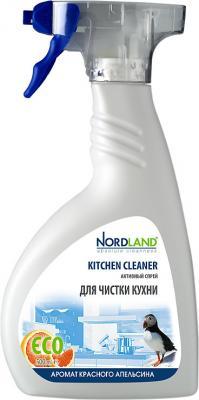 NORDLAND Спрей активный для чистки кухни 500 мл бытовая хими�� nordland активный спрей для чистки кухни 500 мл