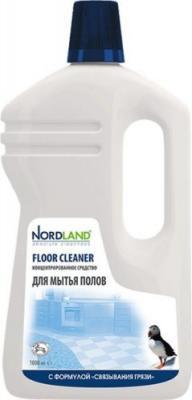 NORDLAND Cредство для мытья полов концентрат 1л бальзам для мытья посуды nordland кокос киви