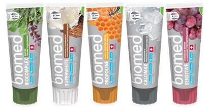 Зубная паста Biomed БМ-422 100 гр в ассортименте splat зубная паста biomed биокомплекс 100 гр