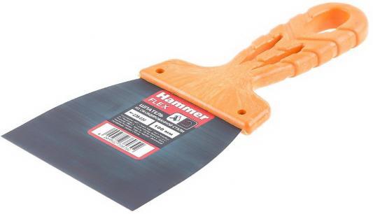 Шпатель оксид. Hammer Flex 238-030 оранжевый 100 мм шпатель mirax 1000 030 z01