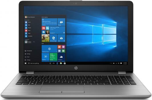 HP 250 G6 Core i3-7020U 2.3GHz,15.6 HD (1366x768) AG,4Gb DDR4(1),500Gb 5400,DVDRW,31Wh,2.1kg,1y,Silver,Win10Pro системный блок dell optiplex 3050 sff i3 6100 3 7ghz 4gb 500gb hd620 dvd rw linux клавиатура мышь черный 3050 0405