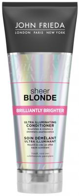 Кондиционер John Frieda Sheer Blonde - Brilliantly Brighter 250 мл 2376201 lace up sheer tank top