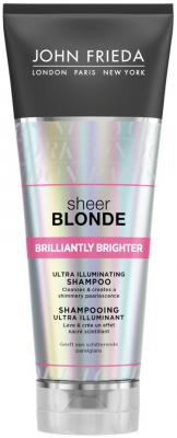 Шампунь John Frieda Sheer Blonde - Brilliantly Brighter 250 мл 2376101 lace up sheer tank top