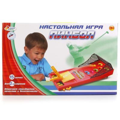 Настольная игра ИГРАЕМ ВМЕСТЕ Пинбол B515572-R настольная игра пинбол играем вместе