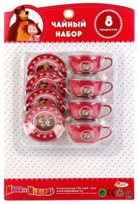 Набор посуды Играем вместе Маша и Медведь металлическая набор посуды играем вместе маша и медведь металлическая