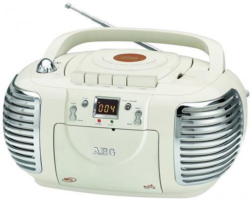 Аудио магнитола AEG NSR 4377 creme aeg f 78022 vi0p