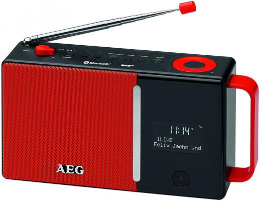 все цены на Радиоприемник AEG DAB 4158 rot DAB+